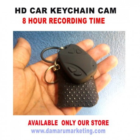 Long Time Recording Small Camera , 8 Hour Battery Backup Hd Car Key Chain With Mini Purse Camera / Web Cam.